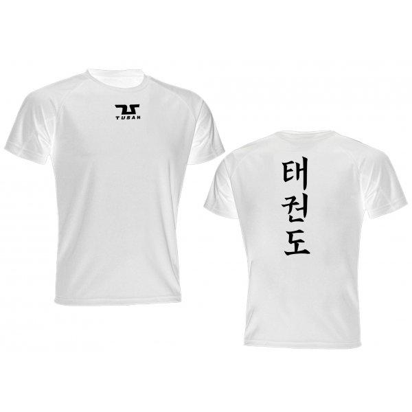 T-shirt Runner Taekwondo Tusah 2.0 traspirante Dry Tech WT WTF Tecnica