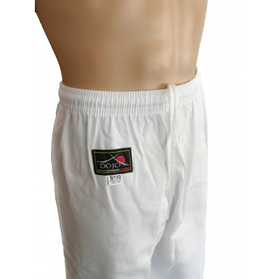 Dojo - Pantaloni bianchi da allenamento Karate Taekwondo arti marziali