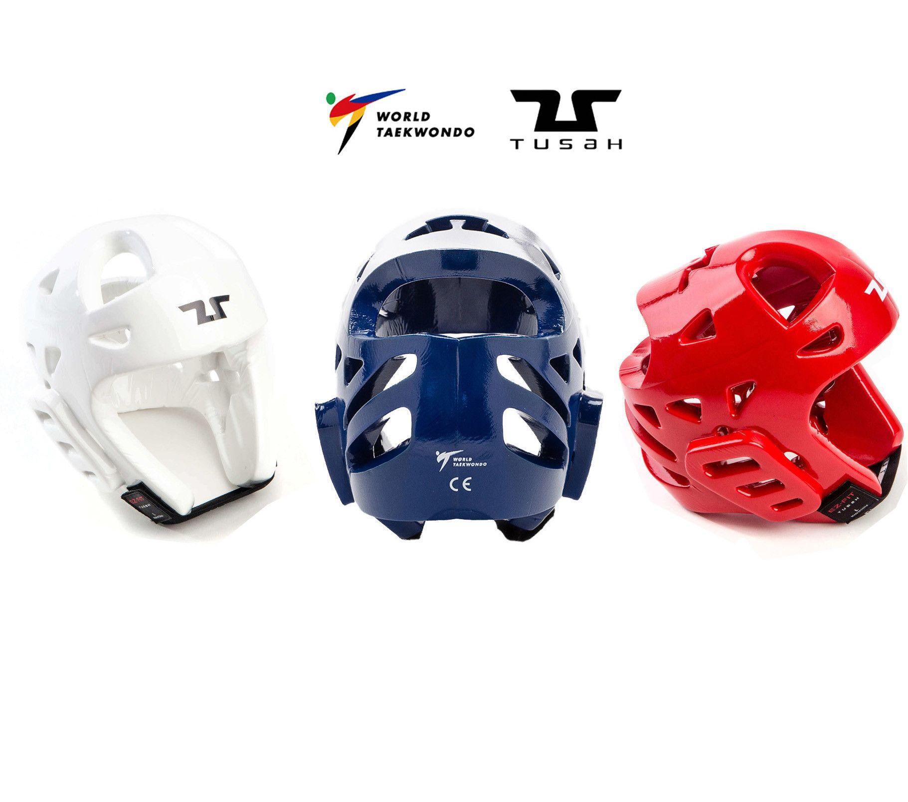 Tusah - Caschetto Omologato WT per Taekwondo adatto a competizioni ed allenamenti