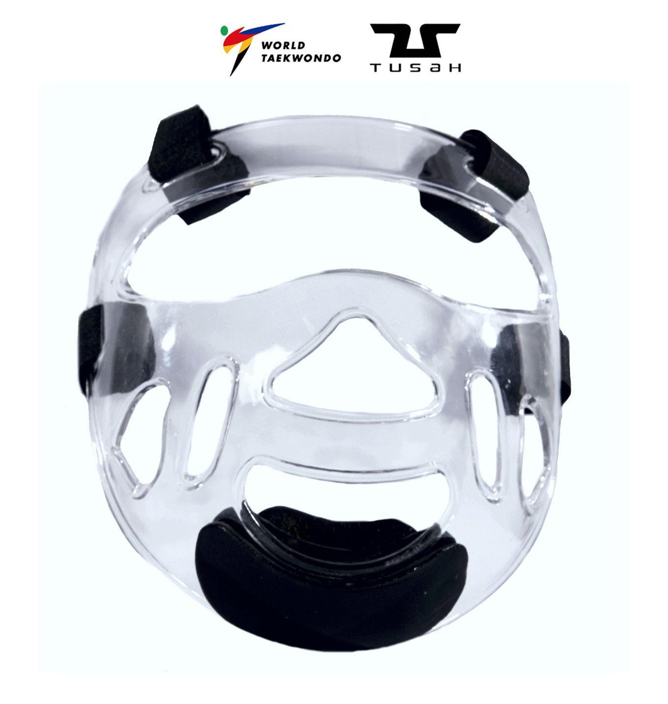 Tusah - Maschera per Caschetto Omologata WT per competizioni o allenamenti