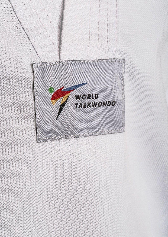 Dobok per Taekwondo Tusah Basic Uniform Omologato WT WTF bambino e adulto per competizioni ed allenamenti