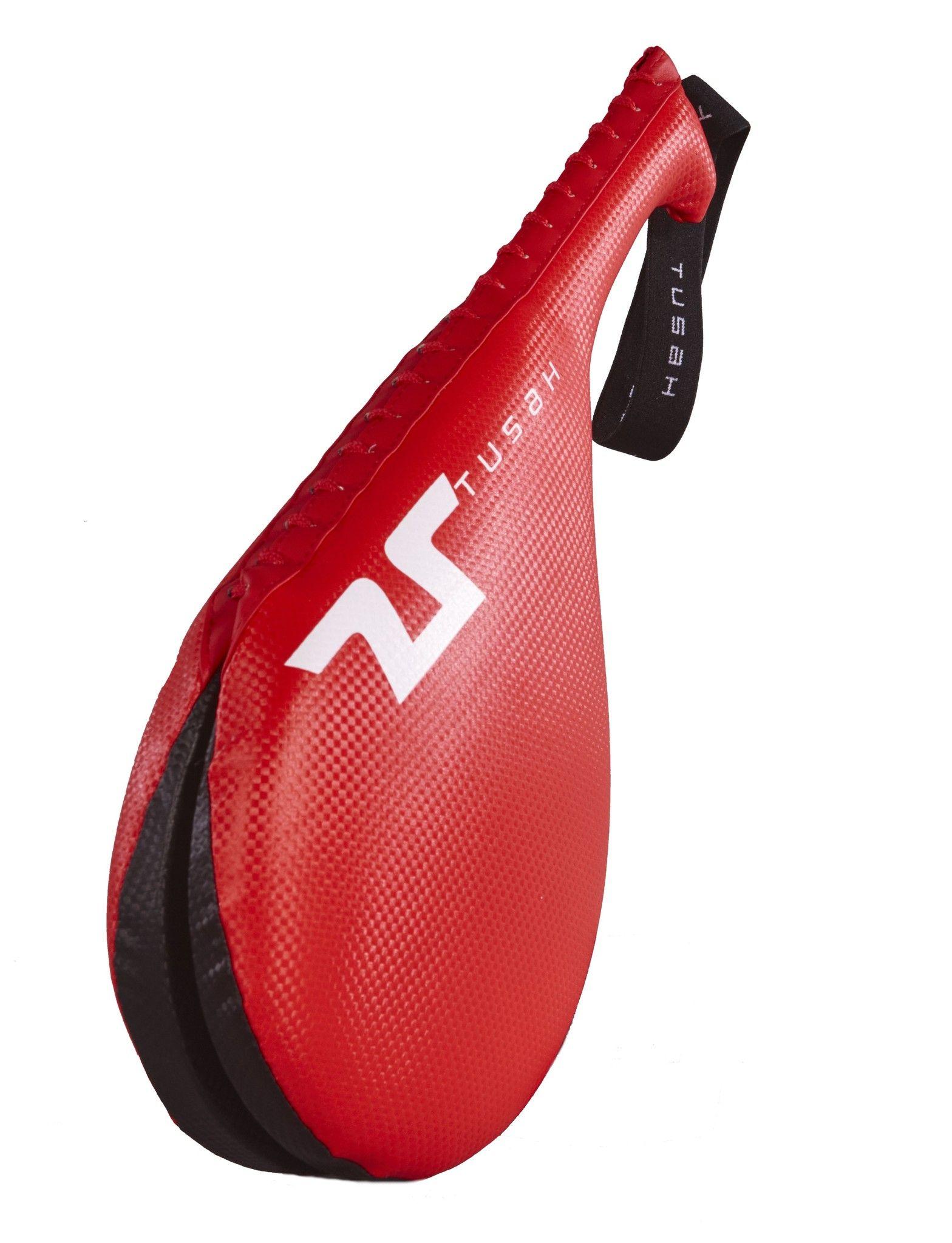 Tusah - Colpitore Doppio Rosso paletta per Taekwondo, Karate Kicktarget