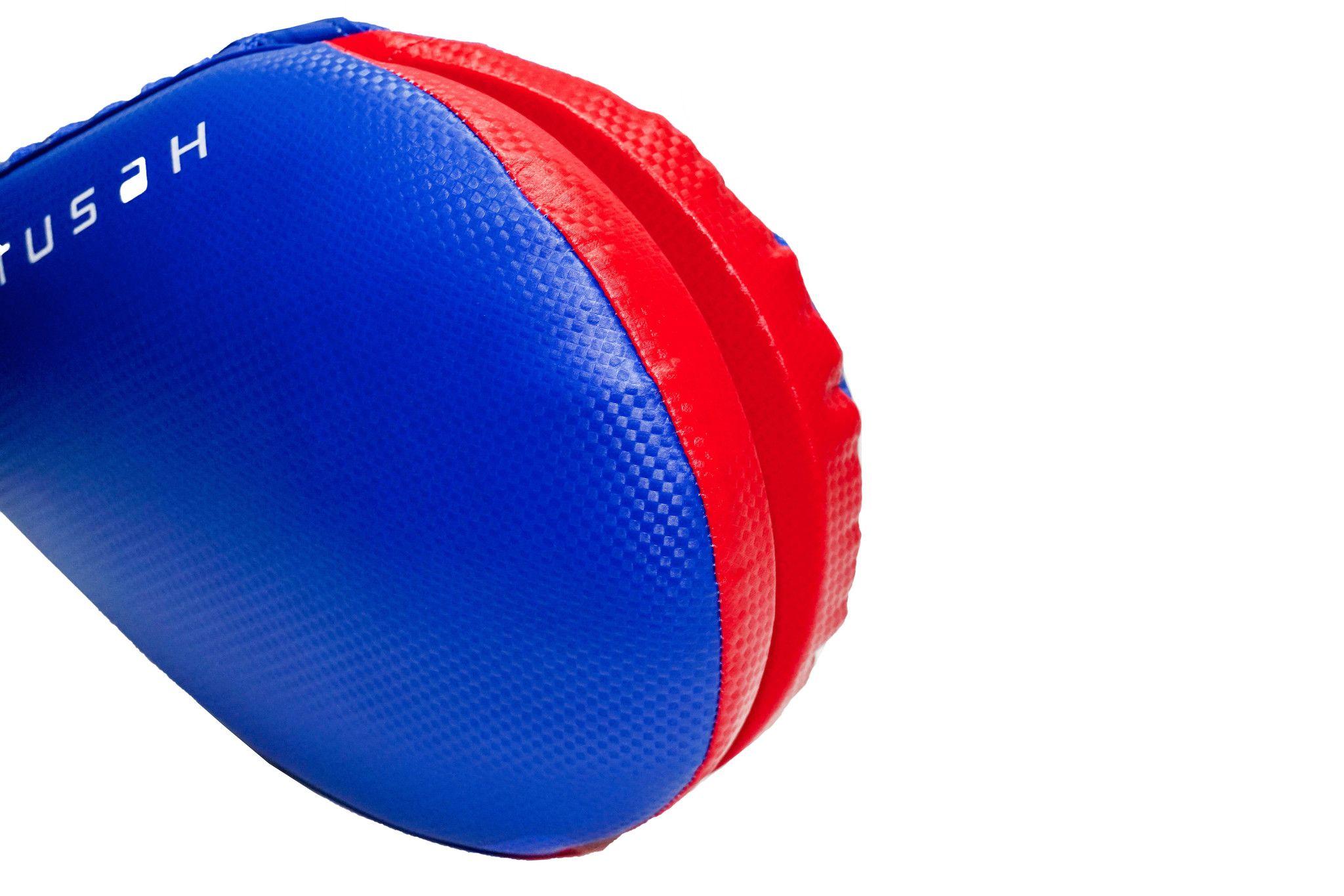 Colpitore Doppio Tusah paletta per Taekwondo, Karate Kicktarget Blu WT WTF