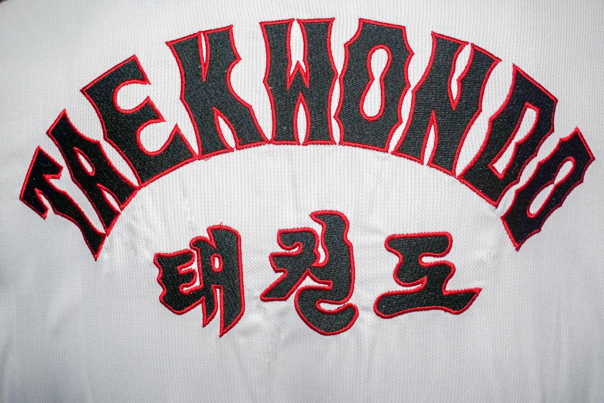 Dobok per Taekwondo Tusah Basic Uniform con Ricamo su schiena Omologato WT WTF bambino e adulto per competizioni ed allenamenti