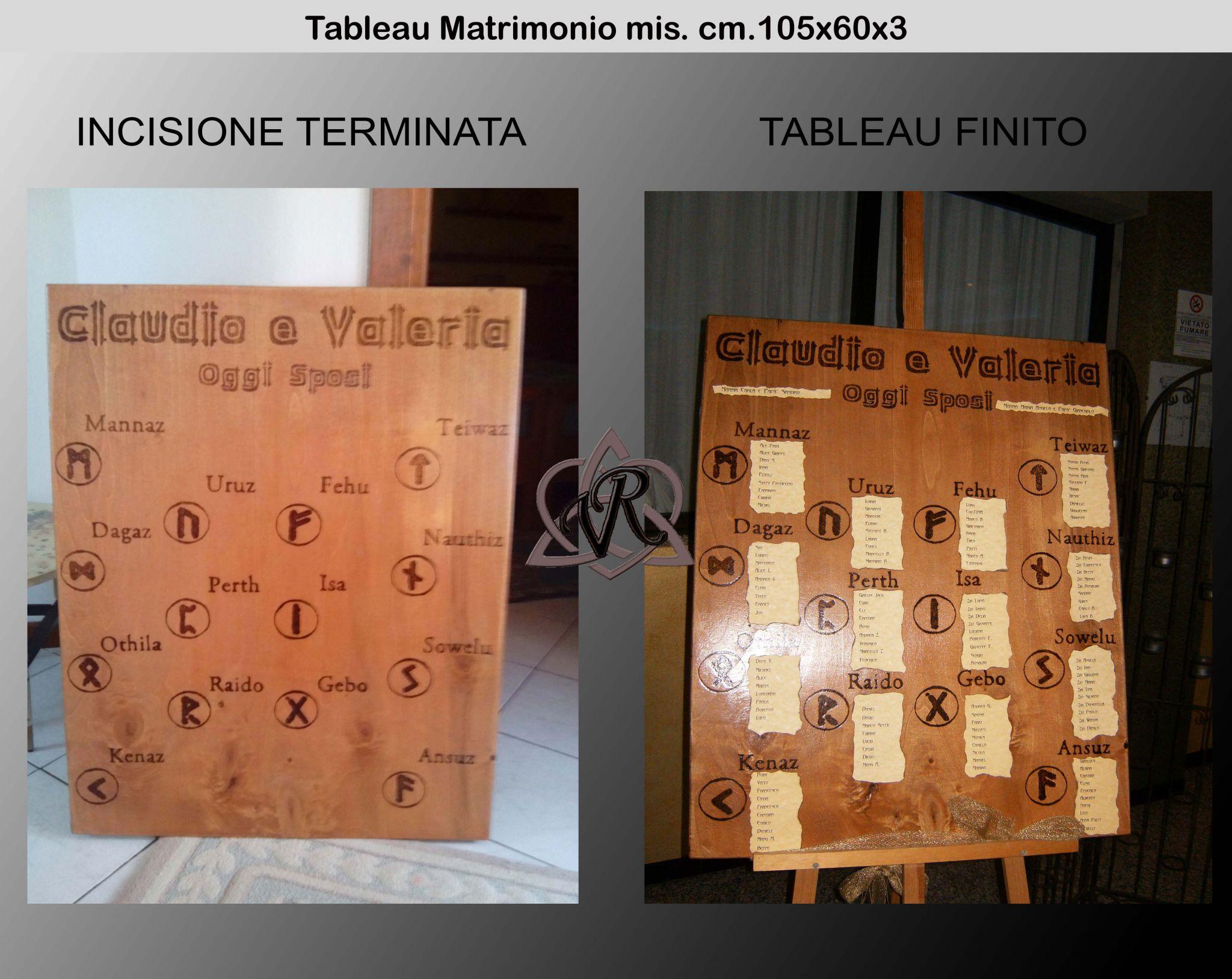 Tableau mis. max. 105x60x3
