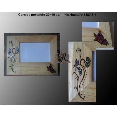 Cornice P/foto mis. 20x16 sp. 1 glitter