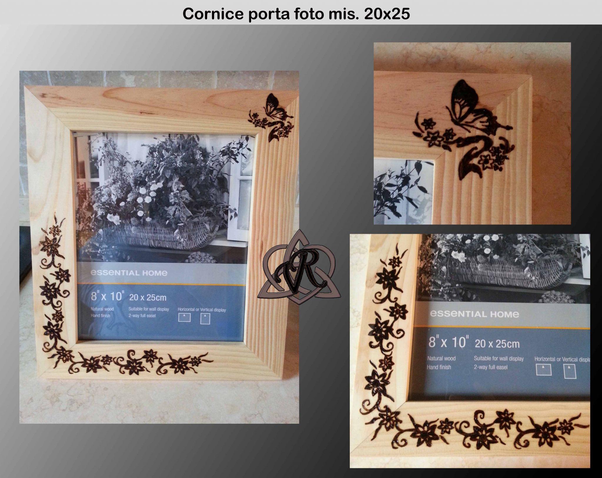 Cornice p/foto GRANDE mis. 20x25