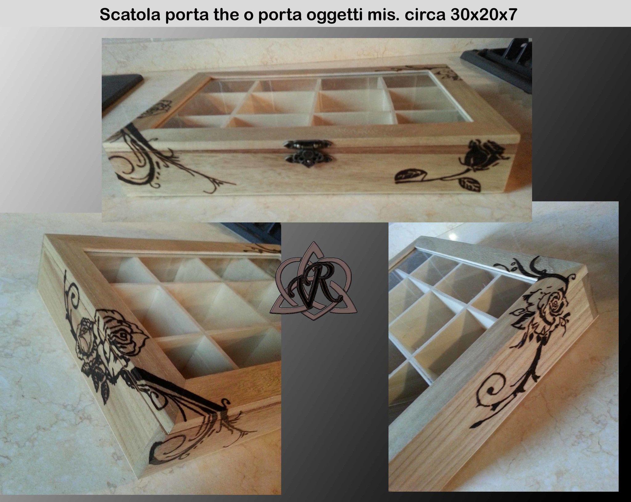 Scatola IDEA P/THE mis. circa 30x20x7