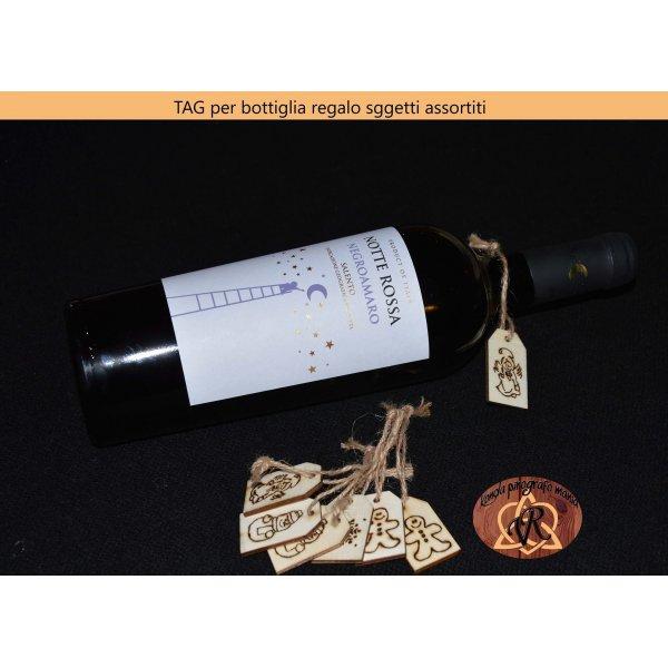 Cartellini per personalizzare bottiglia regalo ad ogni occasione