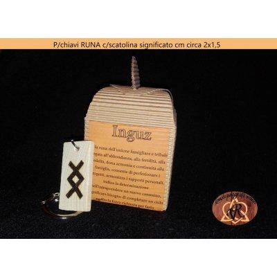 Ciondolo cm circa 2x1 cm o p/chiavi cm 4x2 cm c/confezione