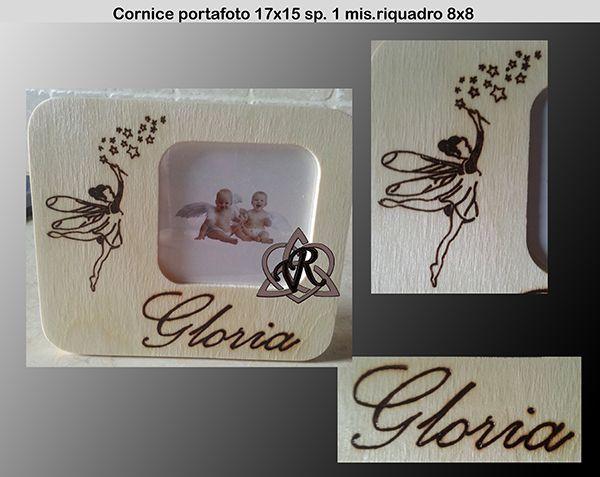Cornice portafoto 17x15 sp. 1