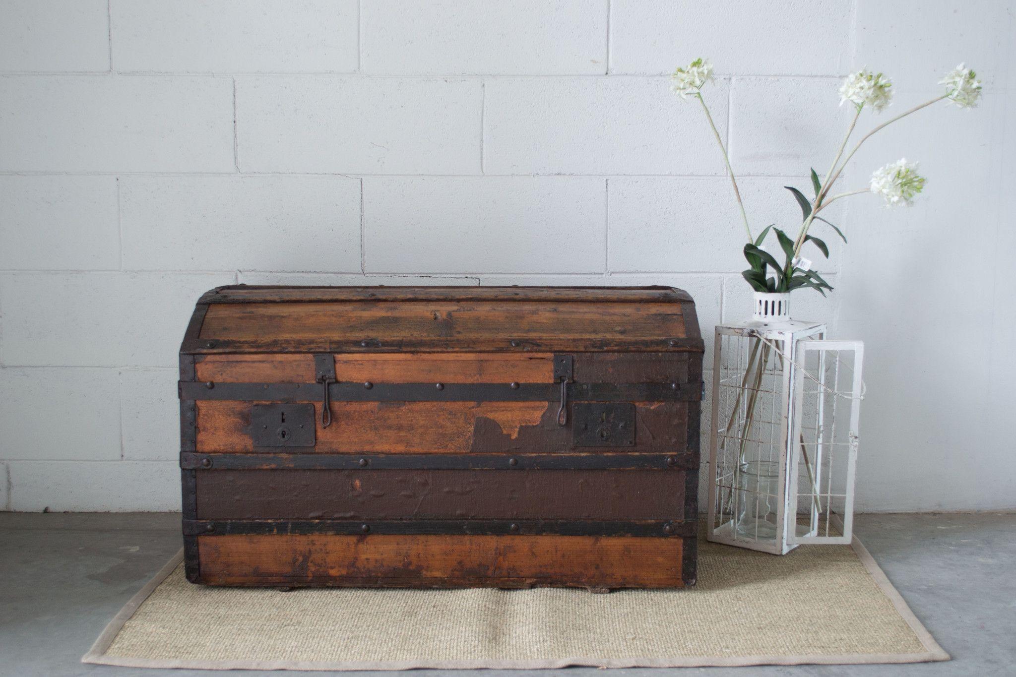 25% Baule in legno primi \'900 - Arredamento - Erashop Market Place