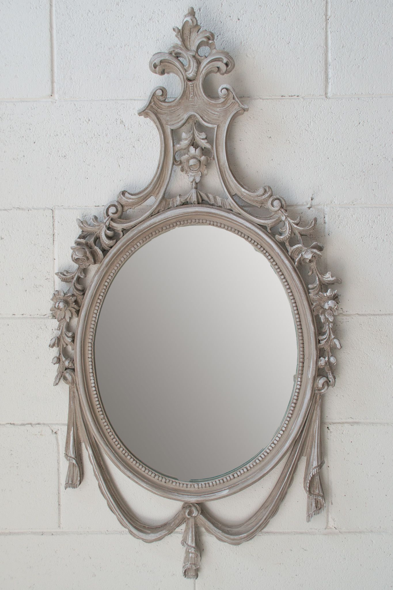 40 specchio vintage anni 39 50 arredamento erashop - Specchio ovale vintage ...