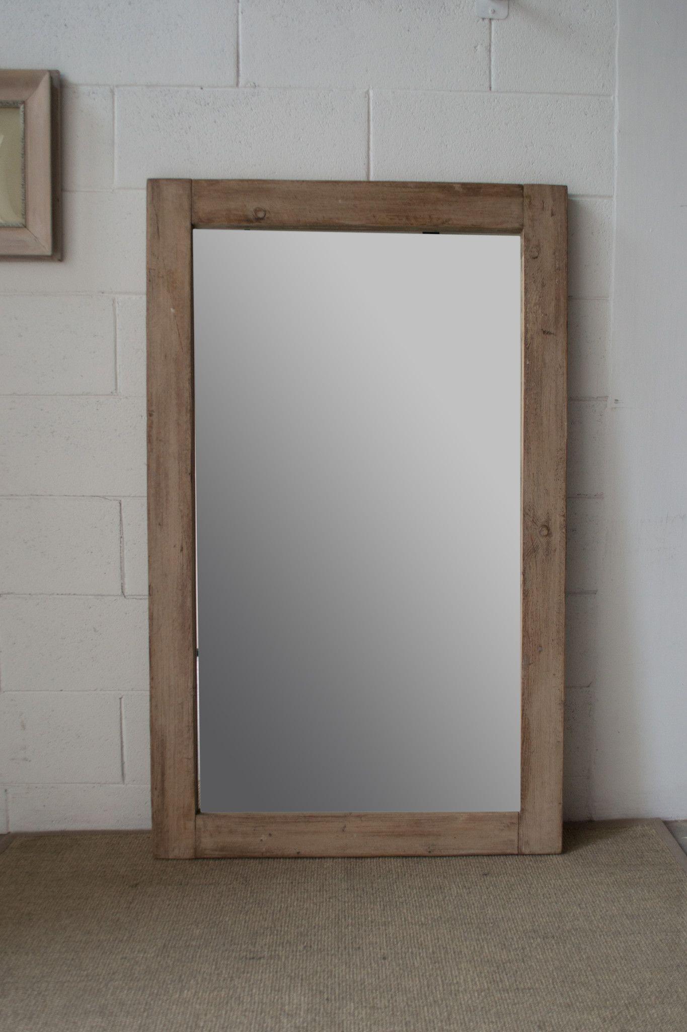 28 specchio in legno di recupero arredamento erashop - Specchio in legno ...