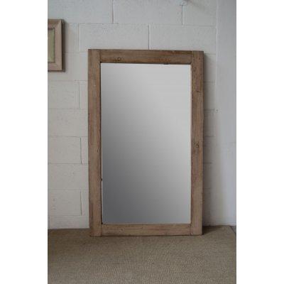 Specchio in legno di recupero