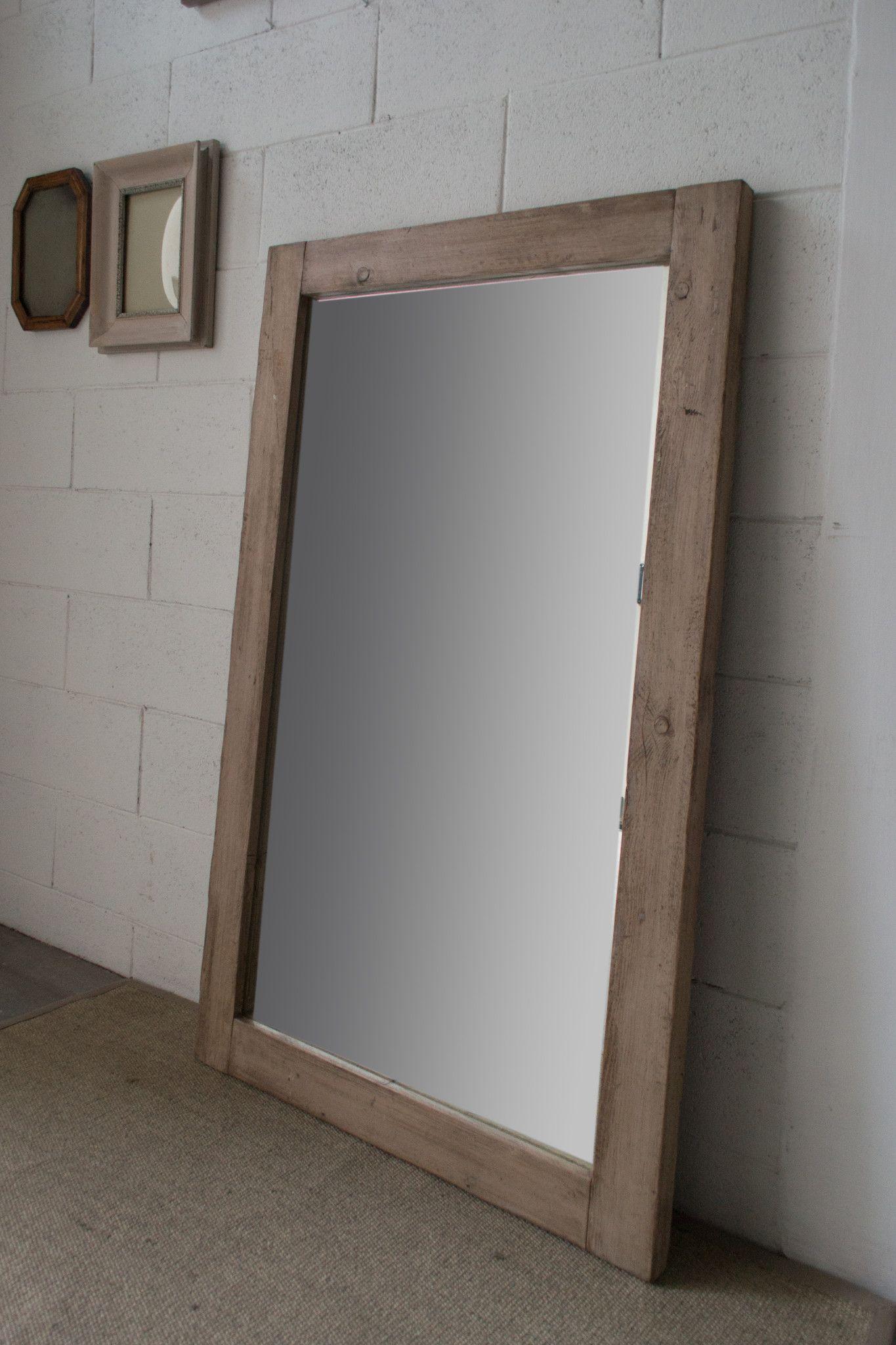 28 specchio in legno di recupero arredamento erashop - Mobili con legno di recupero ...