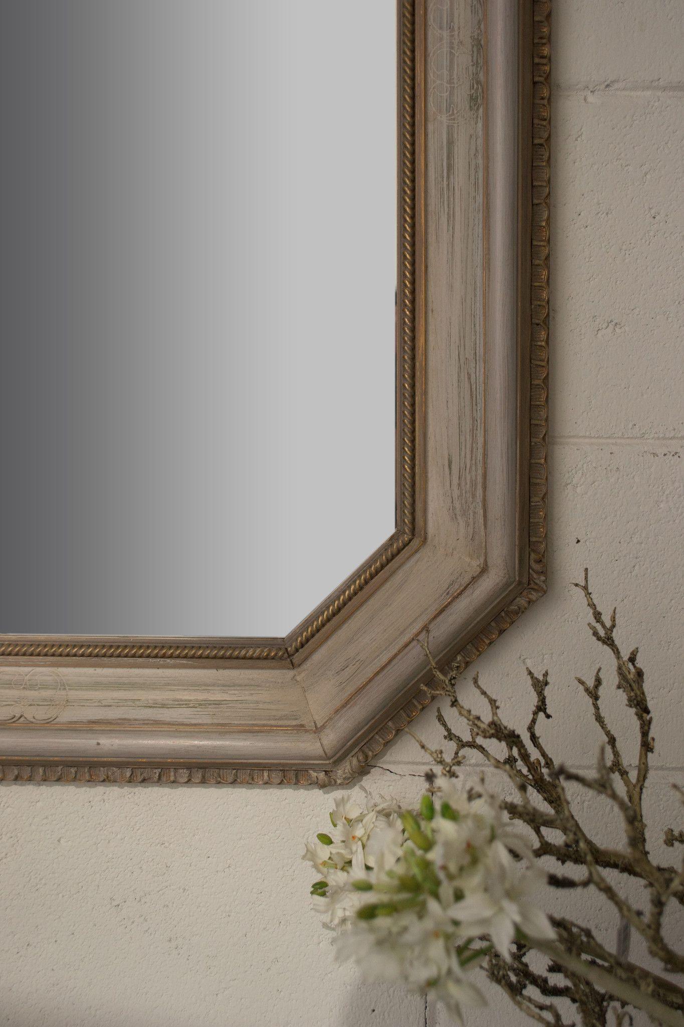specchio shabby vintage arredo shop online mo ma decorazione mobili. Black Bedroom Furniture Sets. Home Design Ideas