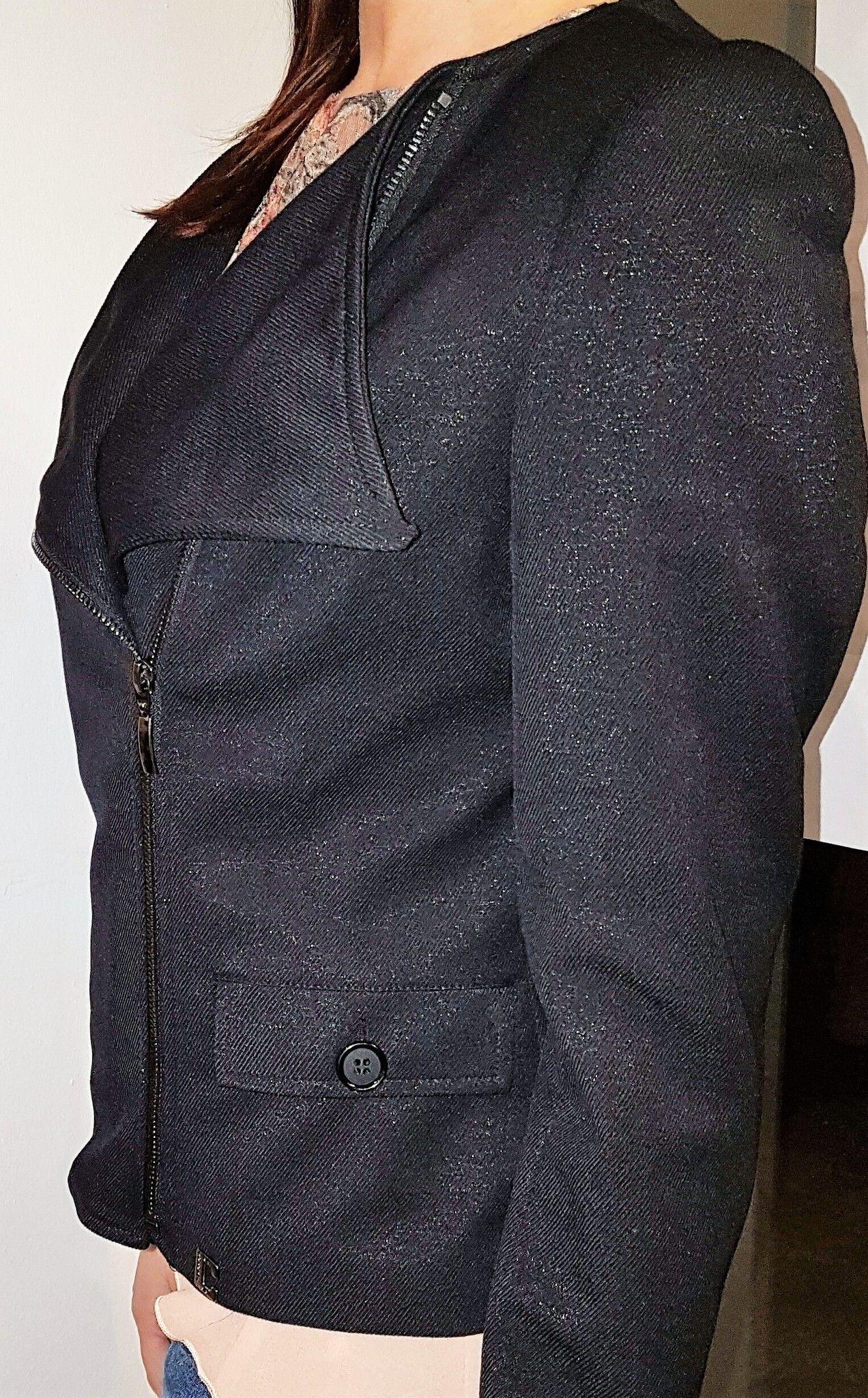size 40 20a1d b0e74 Giacca Chiodo Coconuda   Giacche e Completi   Shop Online: Koco'  Abbigliamento Donna