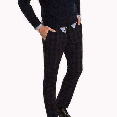 Pantalone Chino A Quadri Tommy Hilfiger Cod. MW0MW03682