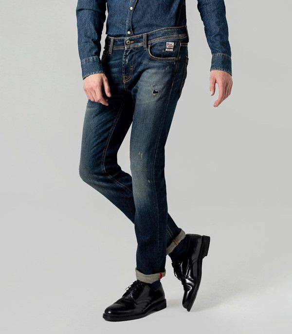 uk availability 076a7 36f4a Jeans Skinny Campa Superior Denim Elast. Vega Roy Rogers Cod. RIU004D0080750