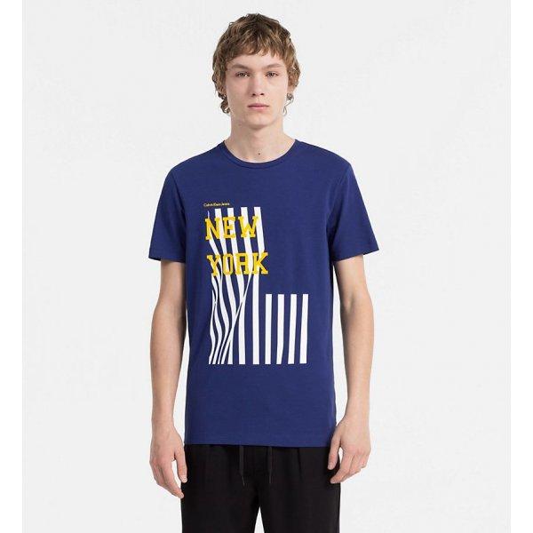 T-shirt Stampa New York Calvin Klein Cod. J30J306895