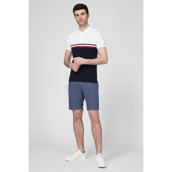 Polo Slim Colorblock Tommy Hilfiger Cod.MW0MW13093