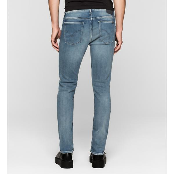 Jeans Elasticizzato Slim Calvin Klein Cod. J30J304716-920 AZZURRO