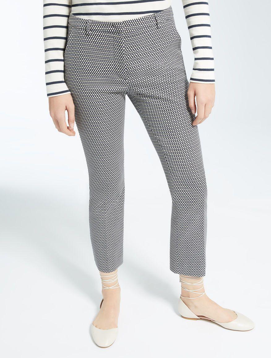 50% Pantalone Fantasia Coton Stretch Weekend MaxMara Cod. GRECIA ... f110f8e8133