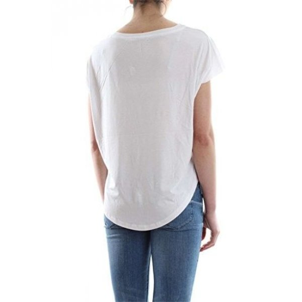 T-shirt Over Stampa Guess Cod.W72I68K54B0 BIANCO