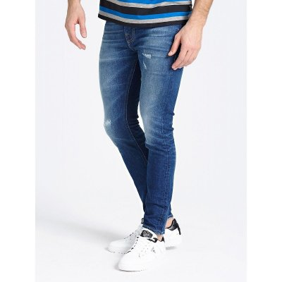 Jeans Skinny Con Strappi Chris Guess Cod. M94A27-D3PC1