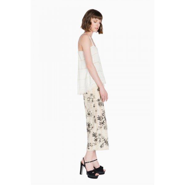 Pantalone Cropped Pizzo Scee-Twinset Cod.SS72KE