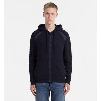Cardigan Con Cappuccio e Zip Calvin Klein Cod. J30J305469-402