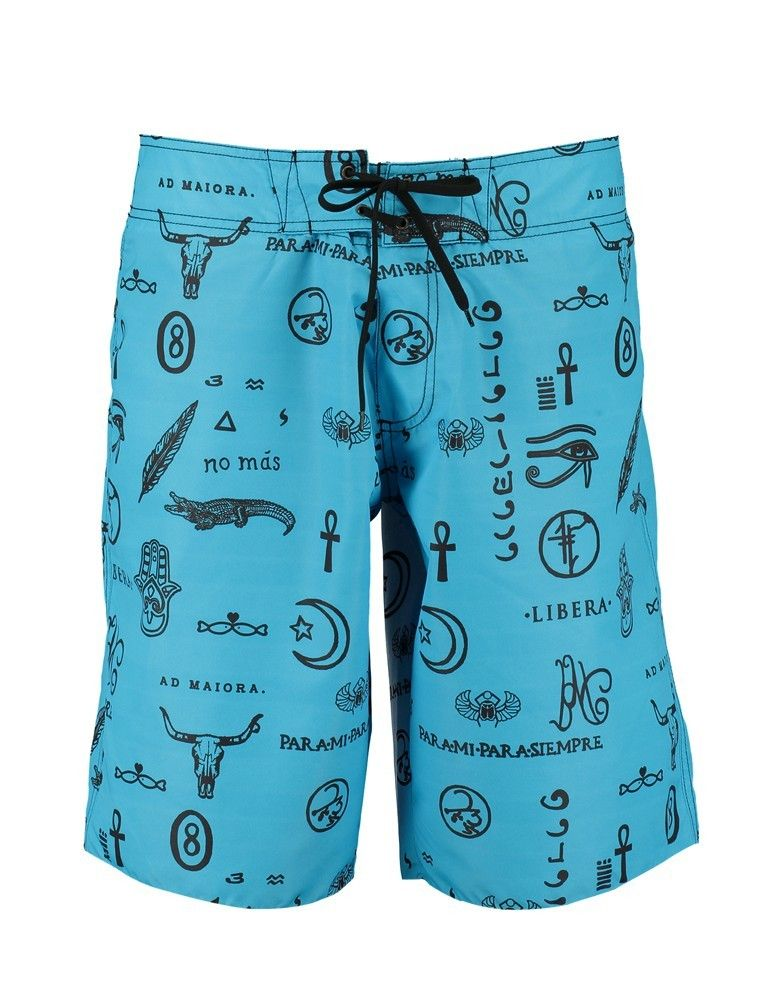 Boardshorts Simone Tatoo POISSON D'AMOUR by CHIARA BIASI