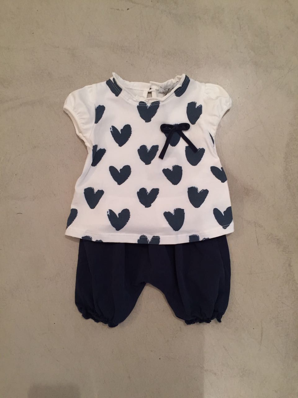 Completino pantalone e t-shirt cuori KID'S COMPANY 71K1525
