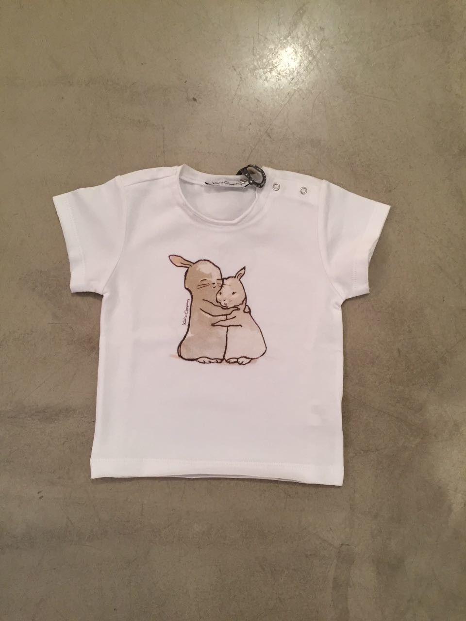 T-shirt coniglietti KID'S COMPANY 71K1341