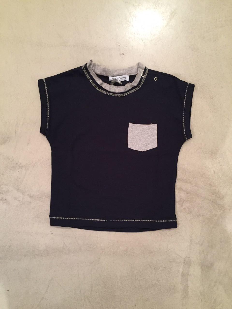 T-shirt con taschino KID'S COMPANY 71K1384