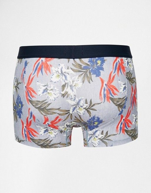 Boxer aderenti in cotone TOMMY HILFINGER TROPICAL