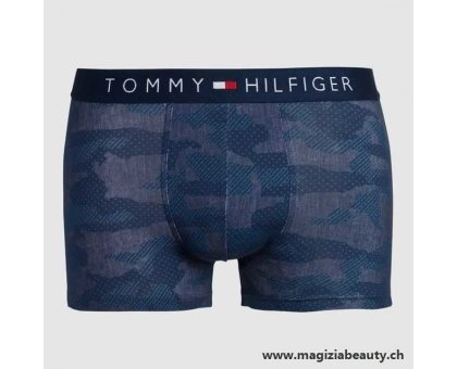 Boxer aderenti in cotone TOMMY HILFINGER PATTERN CAMO