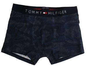 Boxer aderenti in cotone TOMMY HILFINGER PATTERN CAMO