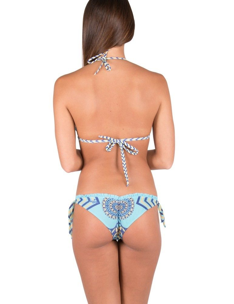 Bikini triangolo stampa maiolica AGOGOA 17A570CF