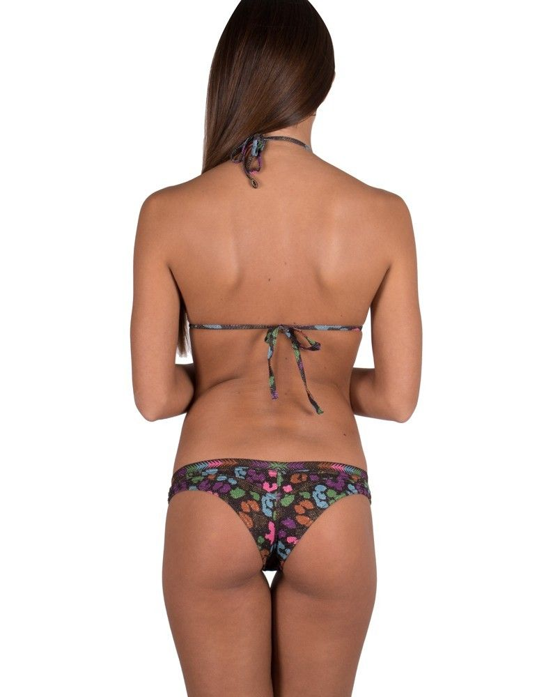 Bikini triangolo push-up borchie PIN-UP STARS 17P356C