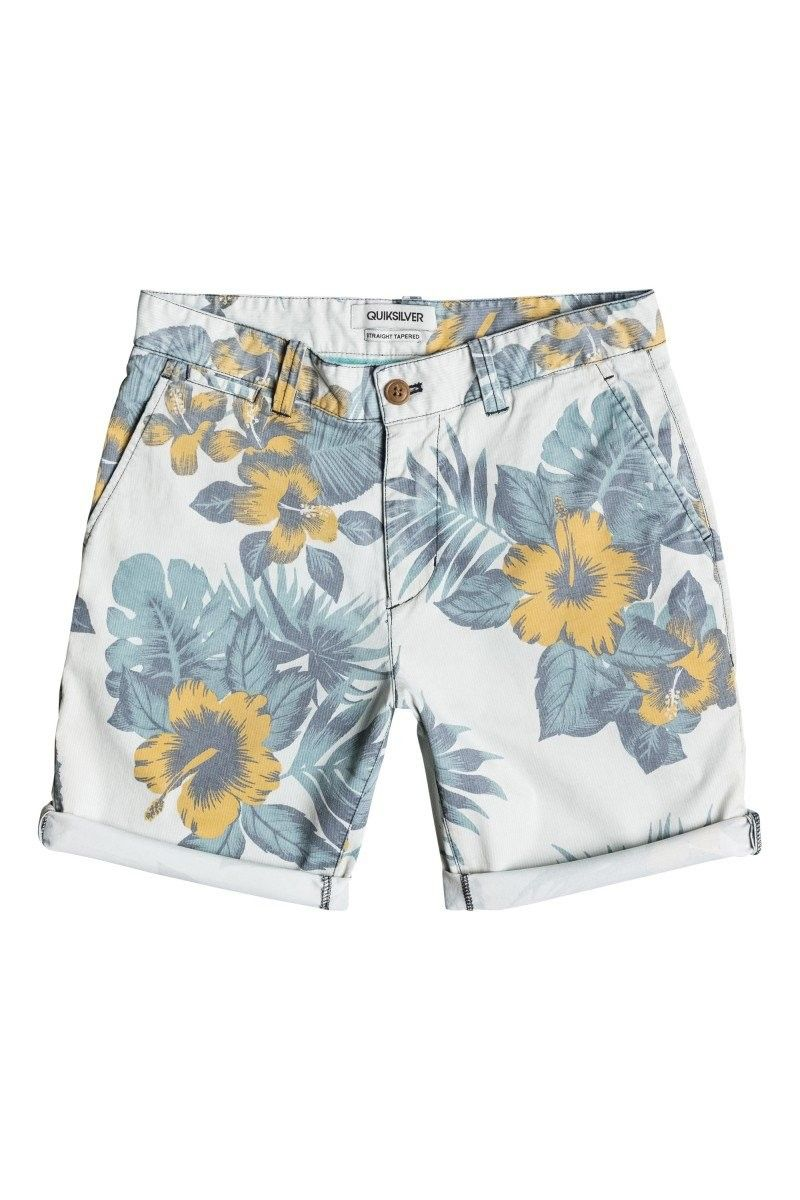 Shorts in cotone QUIKSILVER IBISCUS