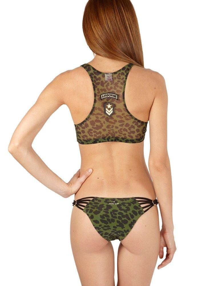 Bikini crop top PIN-UP STARS 17P074S