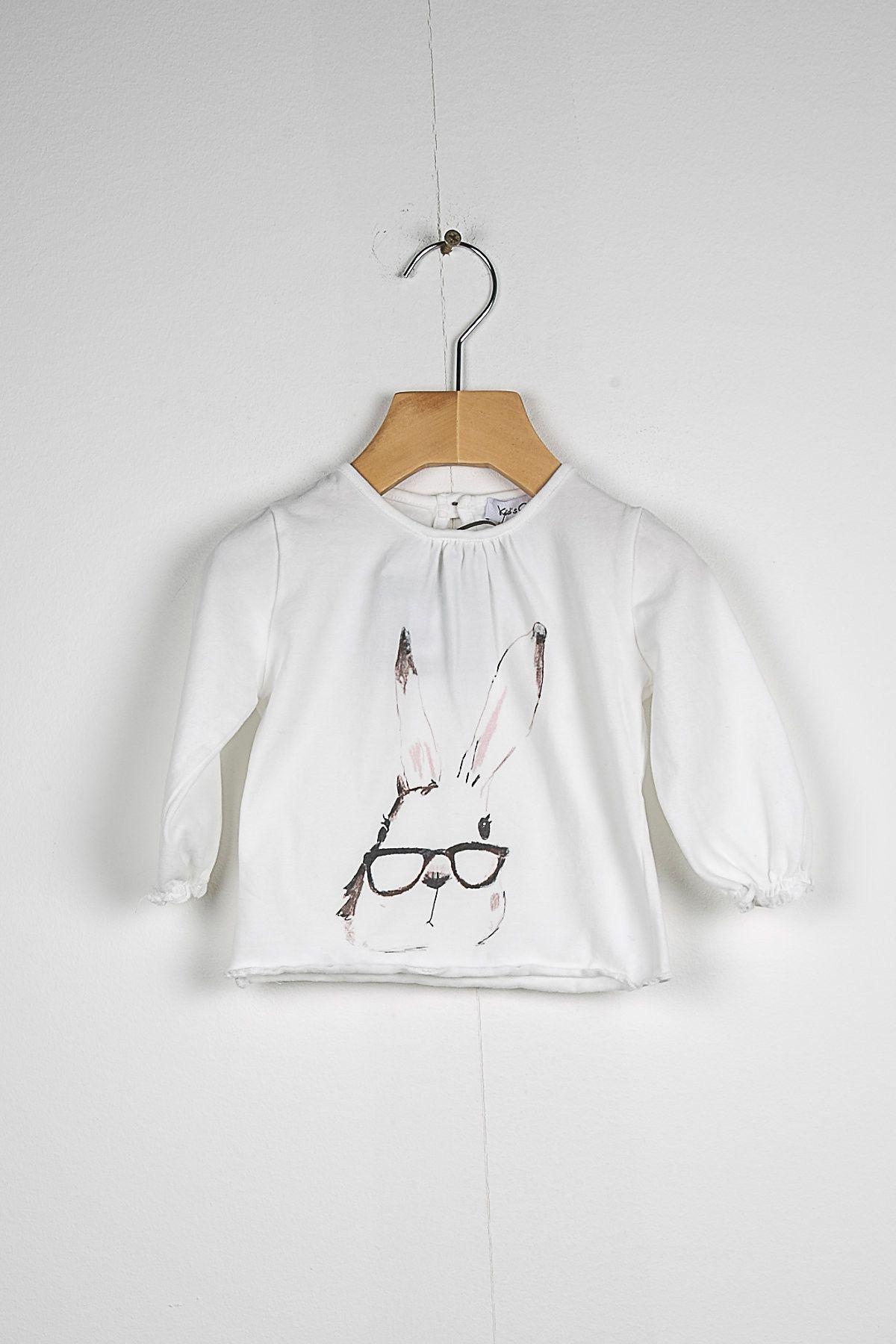 T-shirt stampa coniglio KID'S COMPANY 72K1869