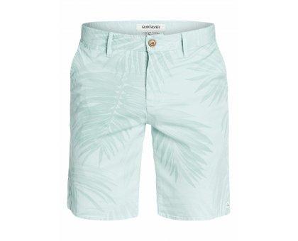Shorts in cotone QUIKSILVER VERDEACQUA