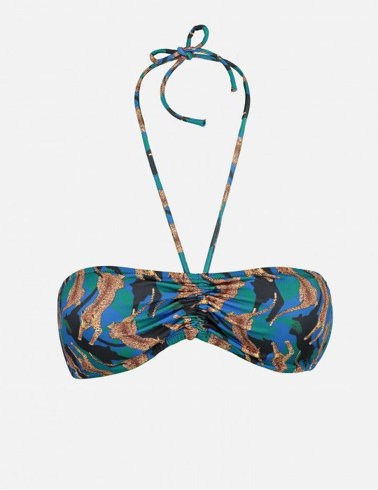 Bikini fascia Leopard POISSON D'AMOUR by CHIARA BIASI