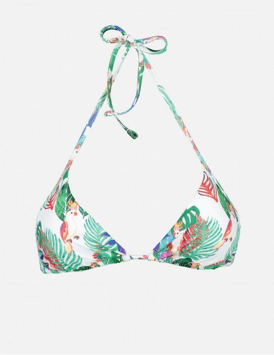 Bikini triangolo Cocorita Salad POISSON D'AMOUR by CHIARA BIASI