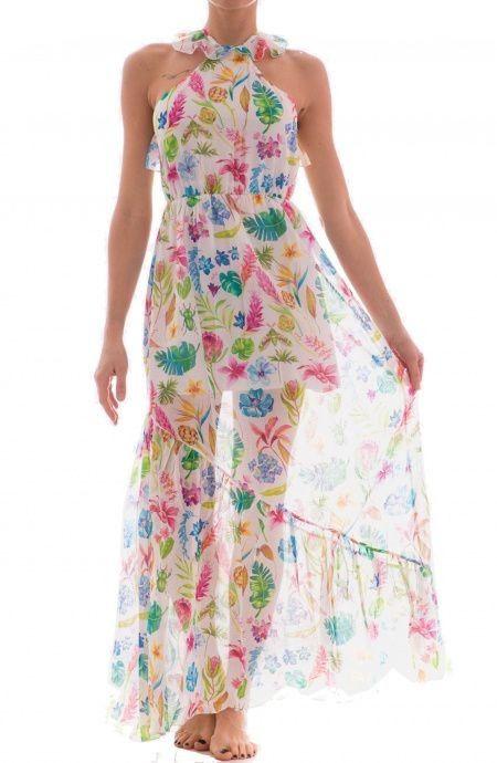 2dfd1a7a8915 50% Copricostume Long Dress Botanic PIN-UP STARS 18P162A   Outlet ...