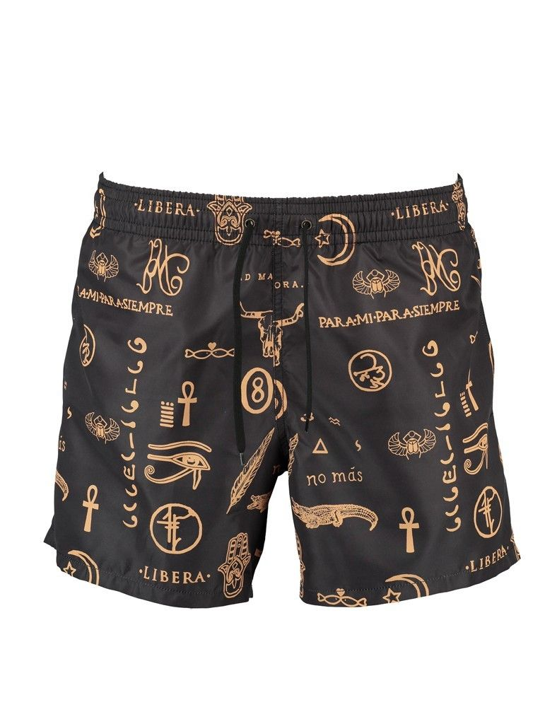 Boardshorts Papiro Tatoo POISSON D'AMOUR by CHIARA BIASI