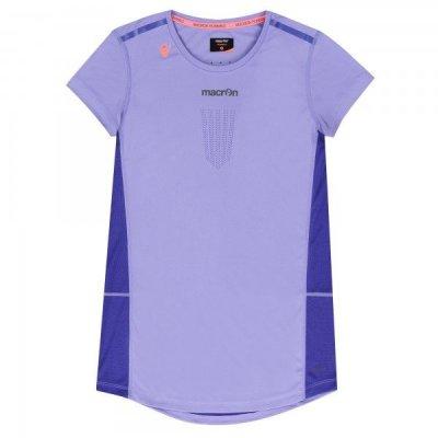 T-Shirt Macron Fohen Pro Tech Run Donna Col.Lilla/Ciclamino
